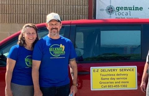 Mary and Gavin MacDonald owners of The Belknap Foodshed